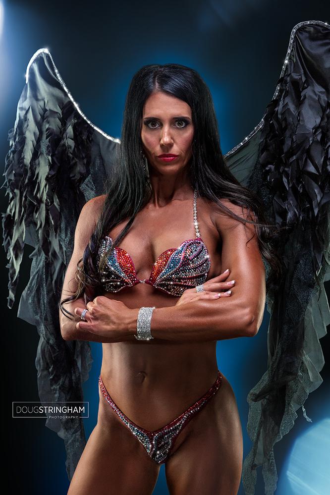 Heather - Bodybuilding 01 by Doug Stringham