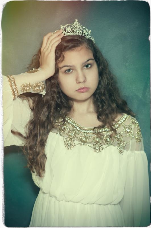 Little Bored Princess by Ilze Lucero