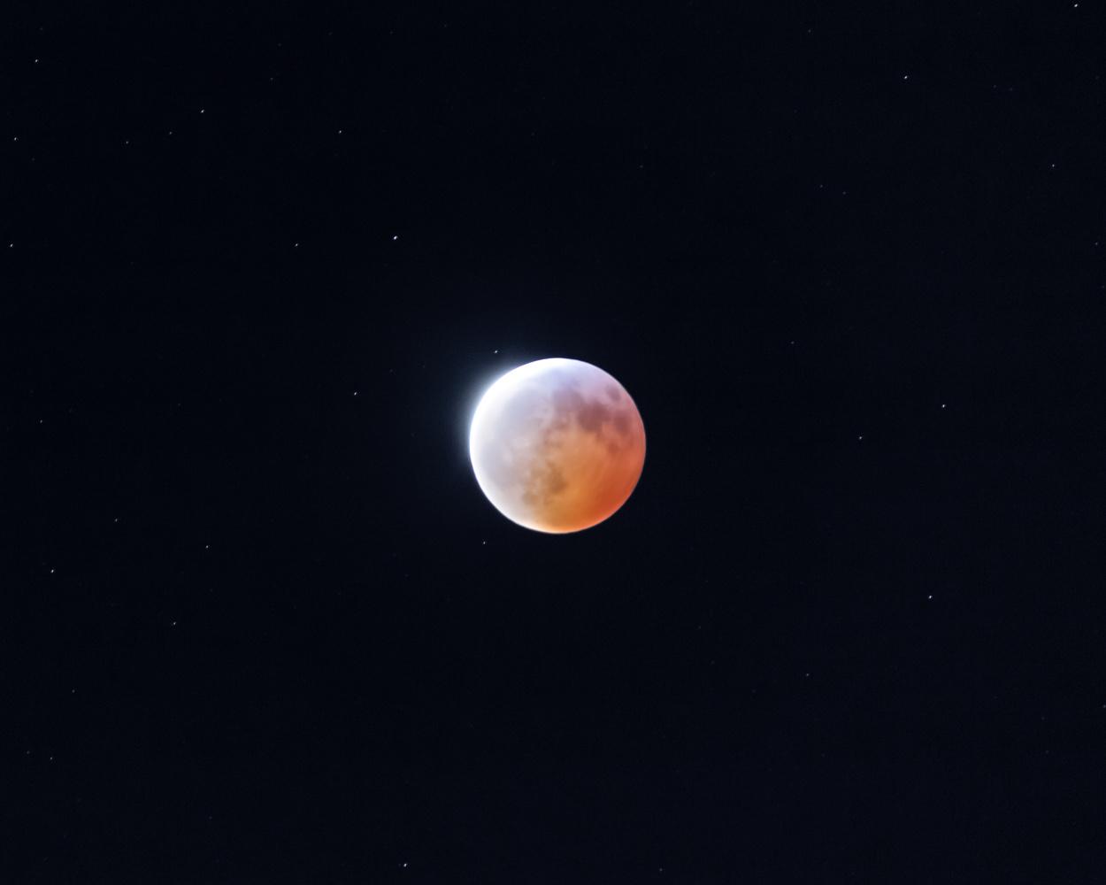 Blood moon by Kunal Mehta