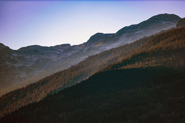 Whistler just before dusk by Andreas Korfmann