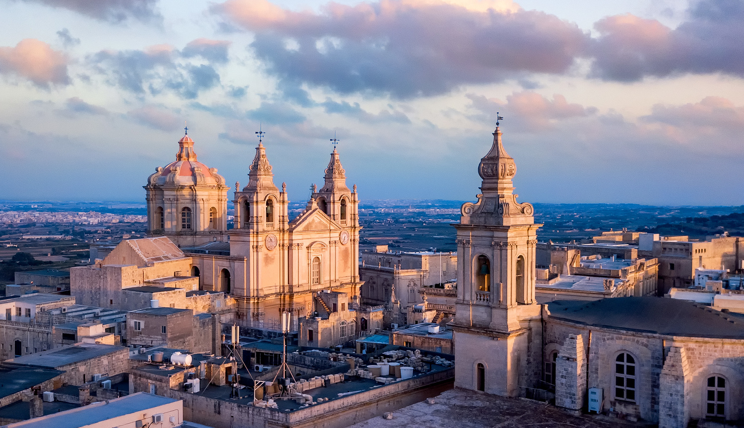 St.Paul Cathedral in Mdina by Mykhailo Nahlii