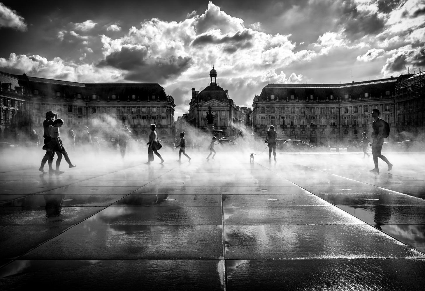 Place de la Bourse by Eric Wilson