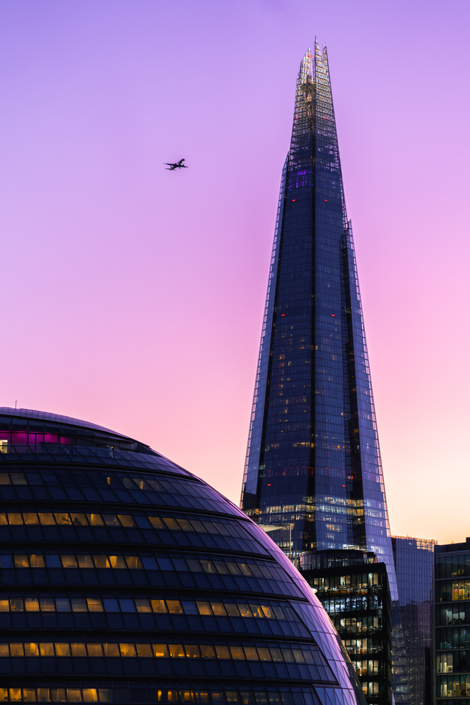 The Shard in London by Andres Pena