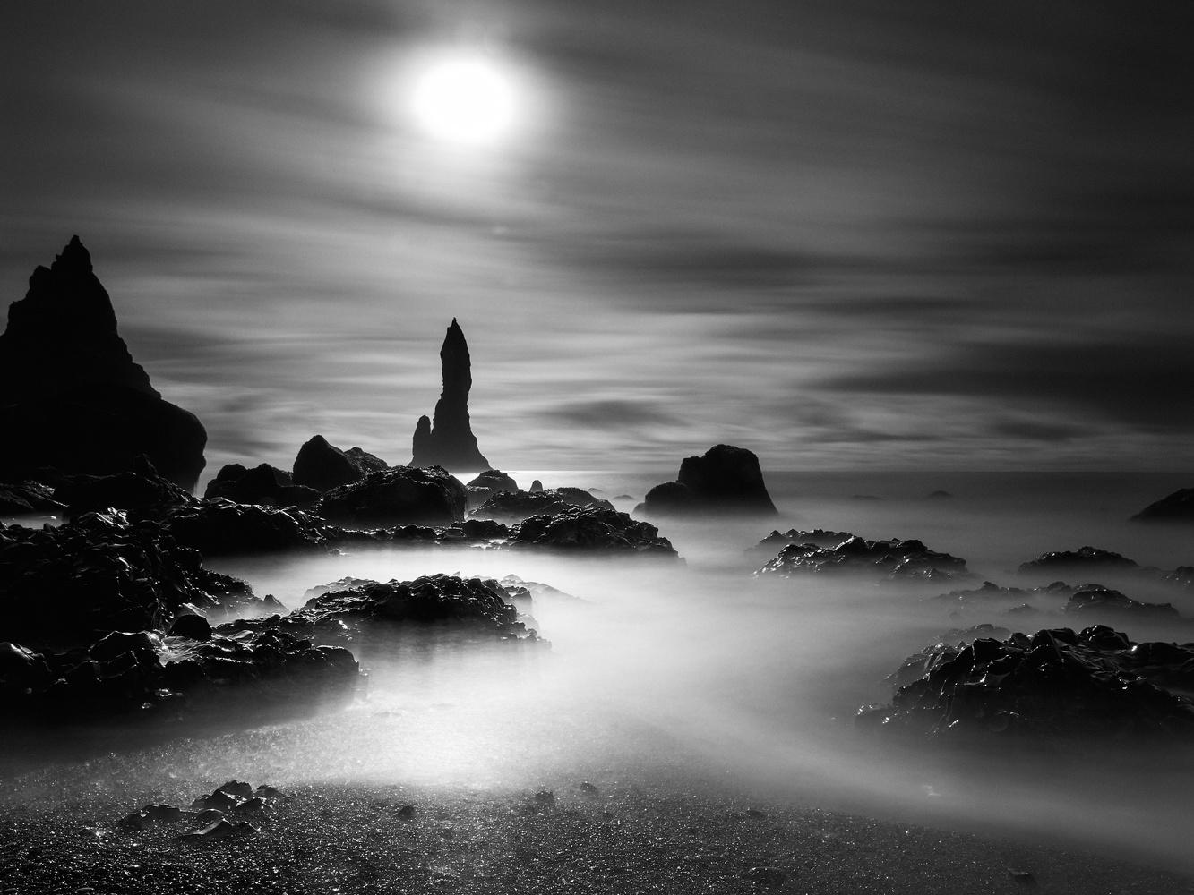 Reynisdrangar by Dominic Williams