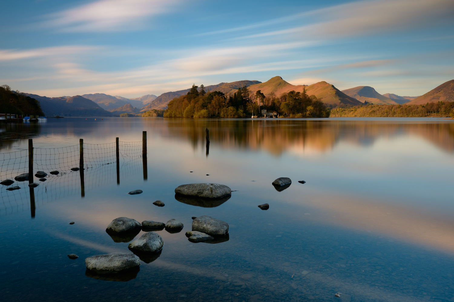 Derwentwater by Dominic Williams