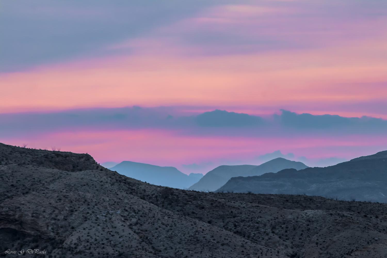 Big Bend Sunrise by Louis DiPaola