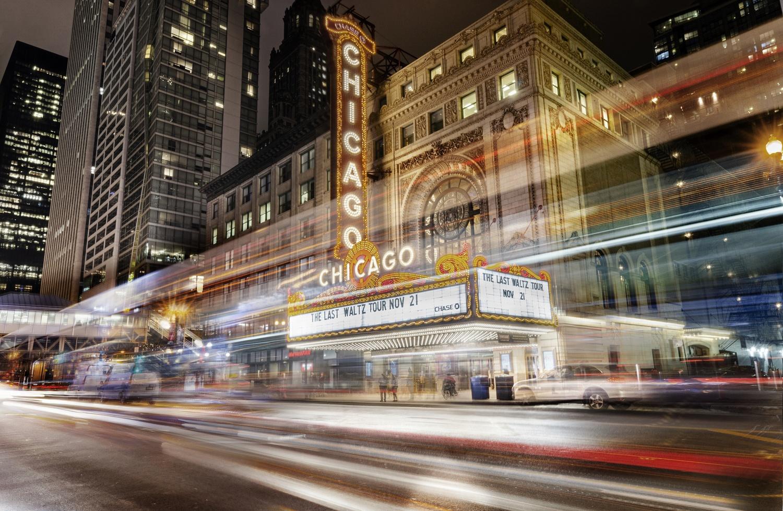 Chicago theater by ZAHARAN MAHAROOF