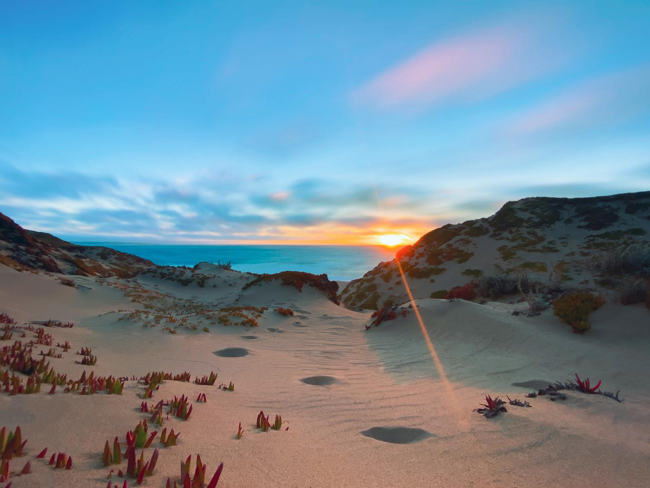 Cerulean Sunset by Jonathan Monroe