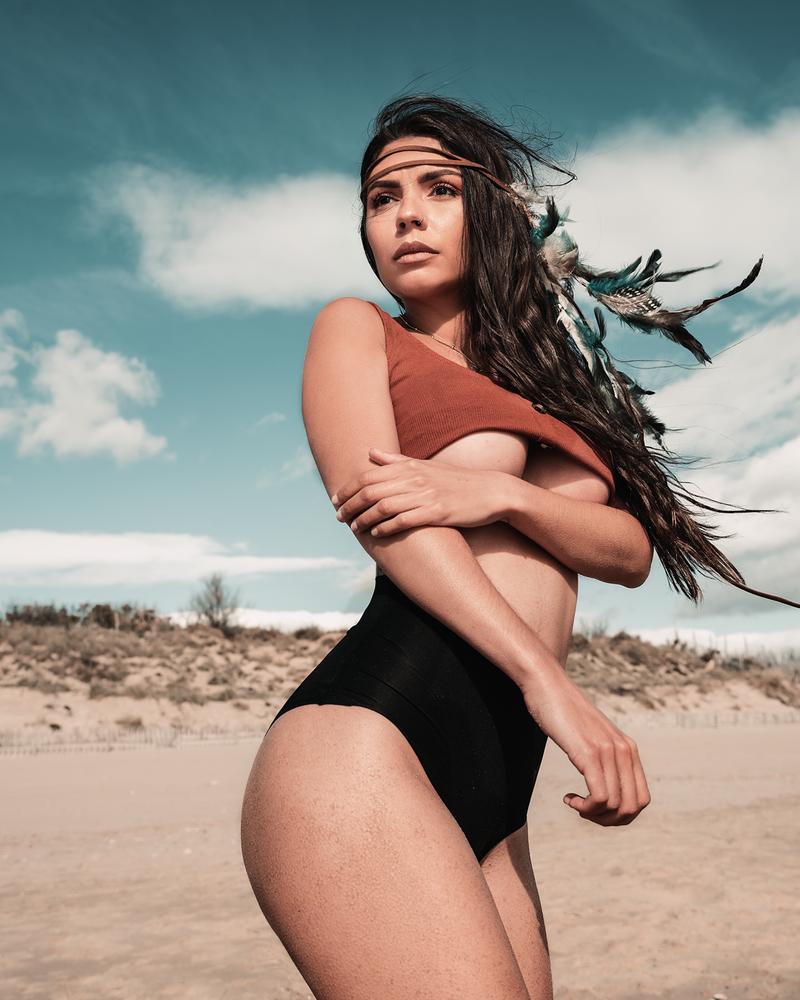 Beach shooting by Marius Vision