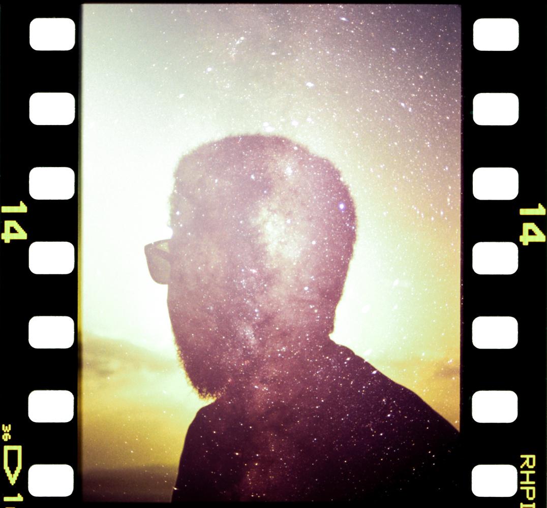 Milkyway Double Exposure, on film. by Jason De Freitas