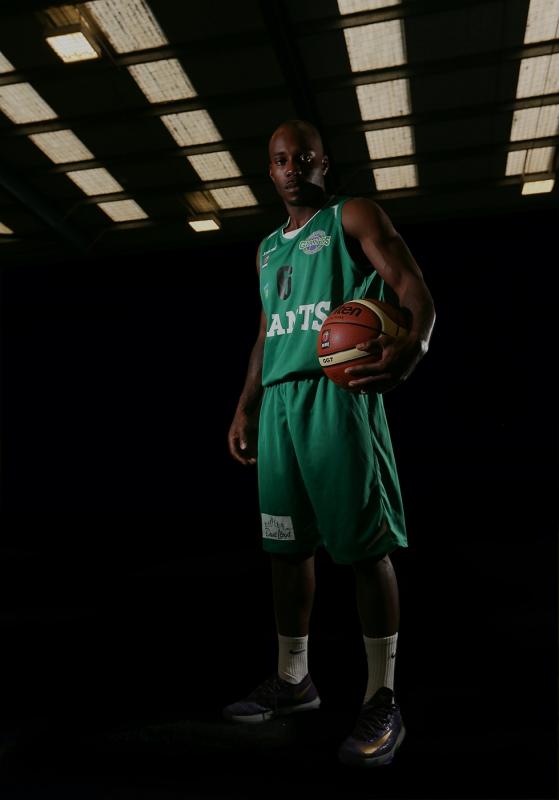 Basketball 'sportrait' by Ville Vuorinen