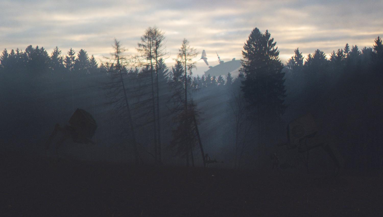 Forest Moon by Petr Harmy Harmáček