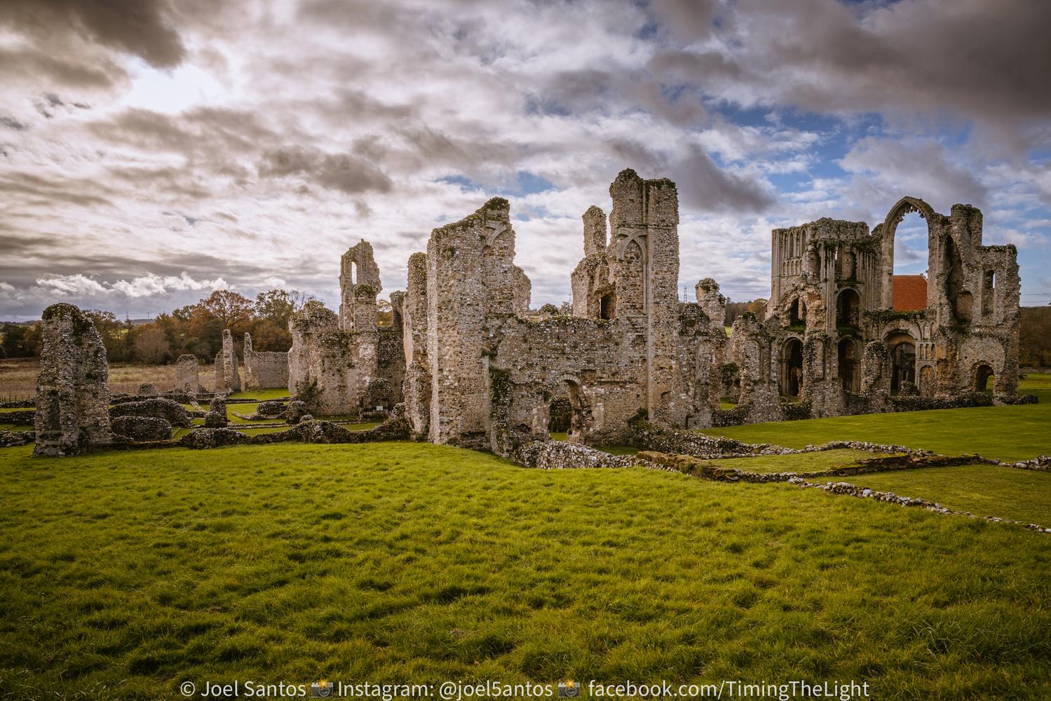 Castle Acre Priory by Joel Santos