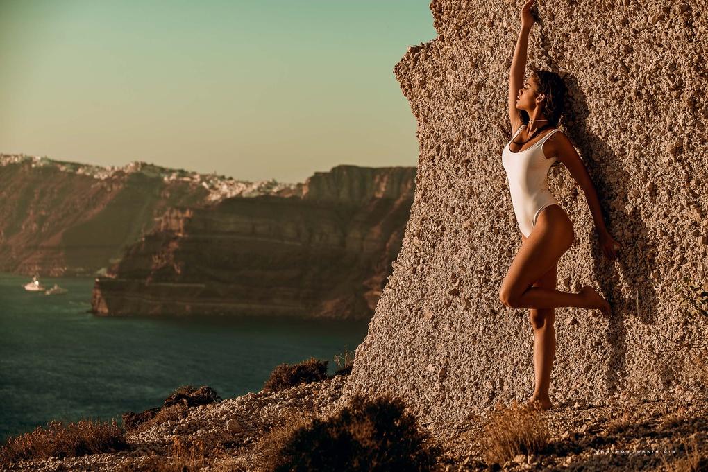 Anna's View by Manthos Tsakiridis