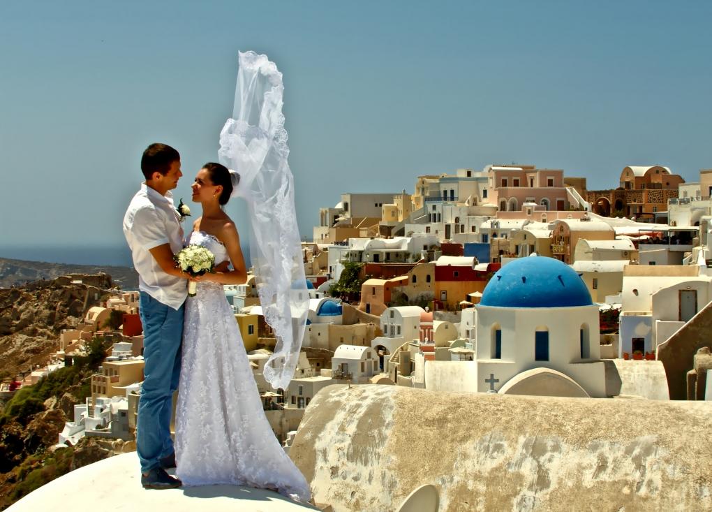 Santorini Bride by John Vaccarello