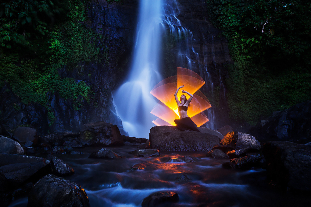 Can you hear the waterfall? You're getting close. by Eric Pare