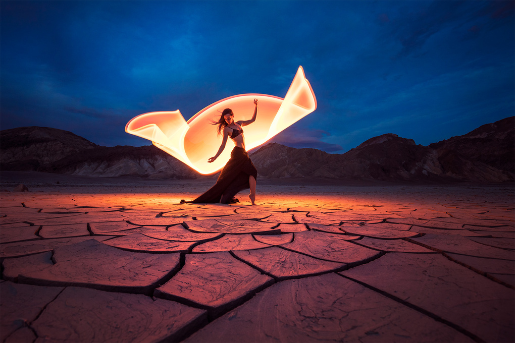 Dancing with light by Eric Pare