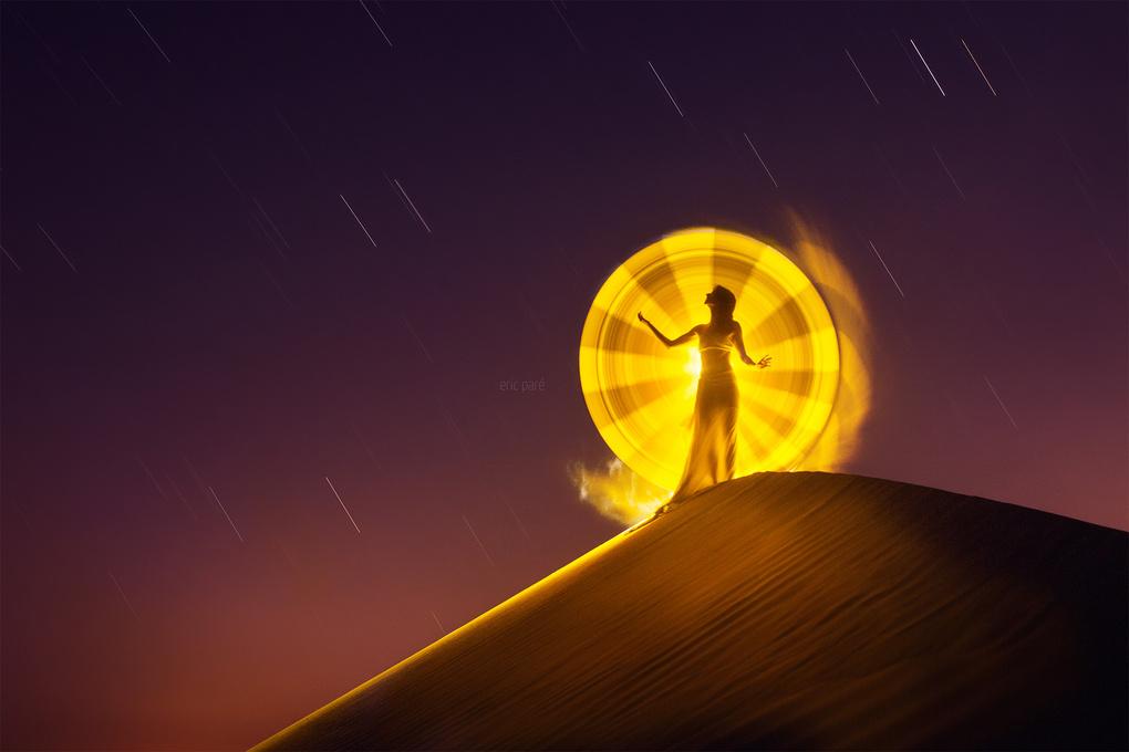 Desert light by Eric Pare