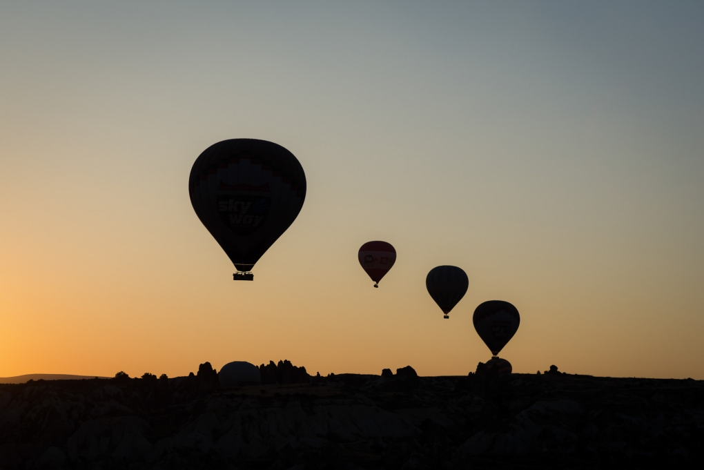 Four in Flight  by Brian Hammonds