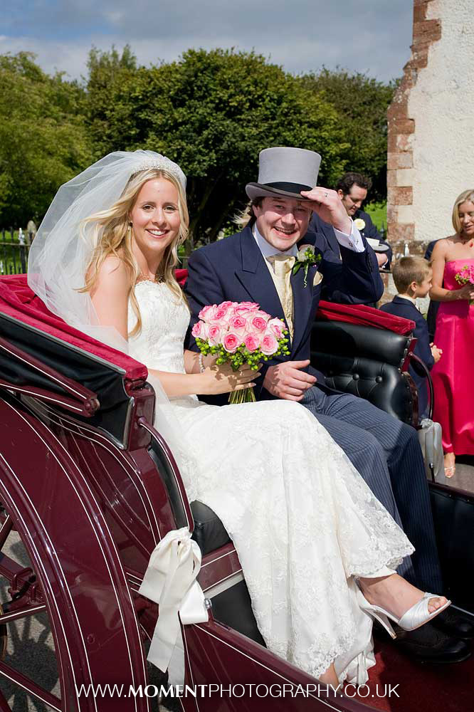 Somerset summer wedding couple by Ross Alexander