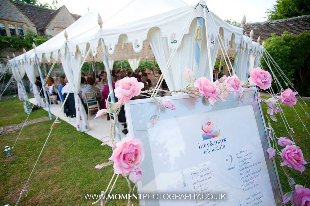 Indian marquee at Chippenham wedding by Ross Alexander
