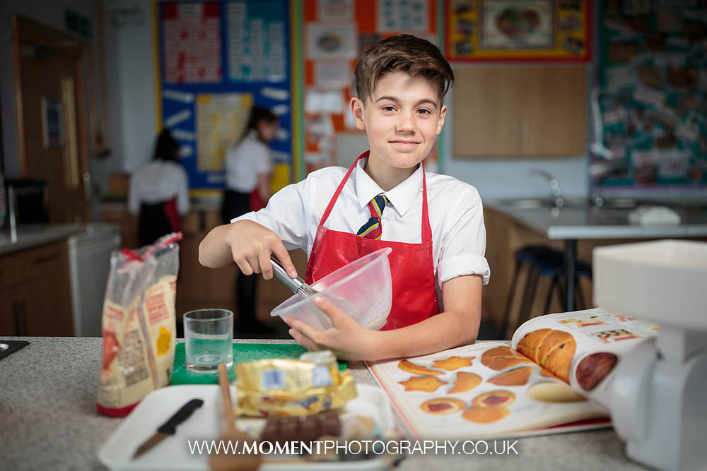 Preston School Yeovil cooking lessons by Ross Alexander