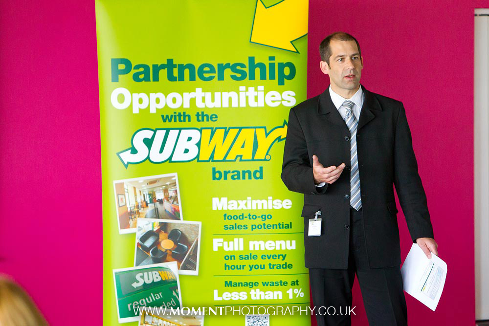 Subway business conference by Ross Alexander