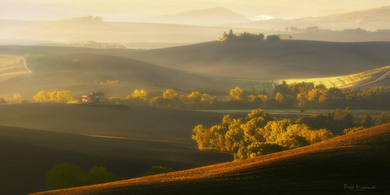 Tuscany morning by Rafal Kani