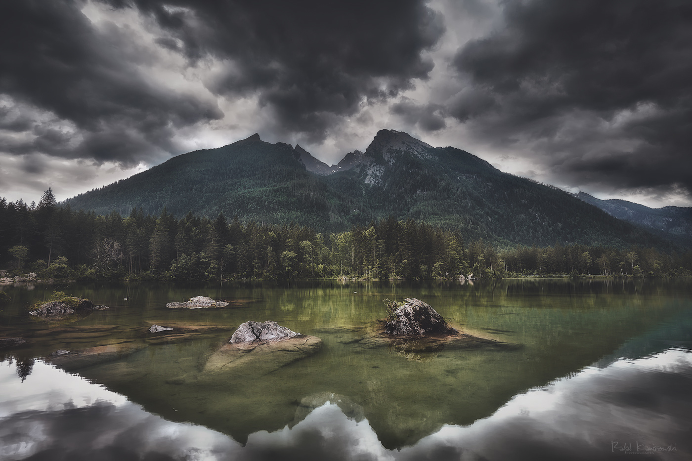 Hintersee lake by Rafal Kani