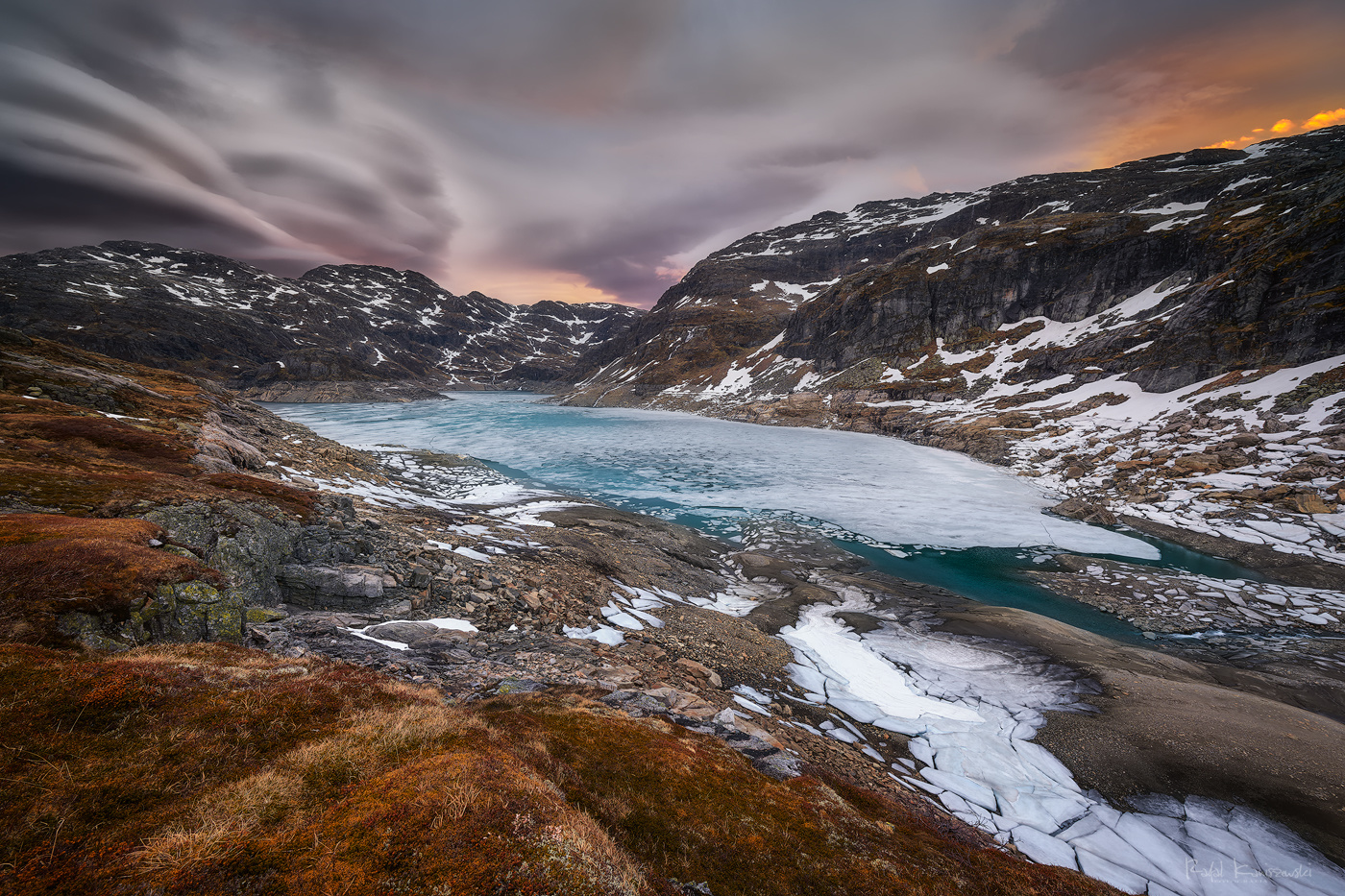 Glacier lake by Rafal Kani