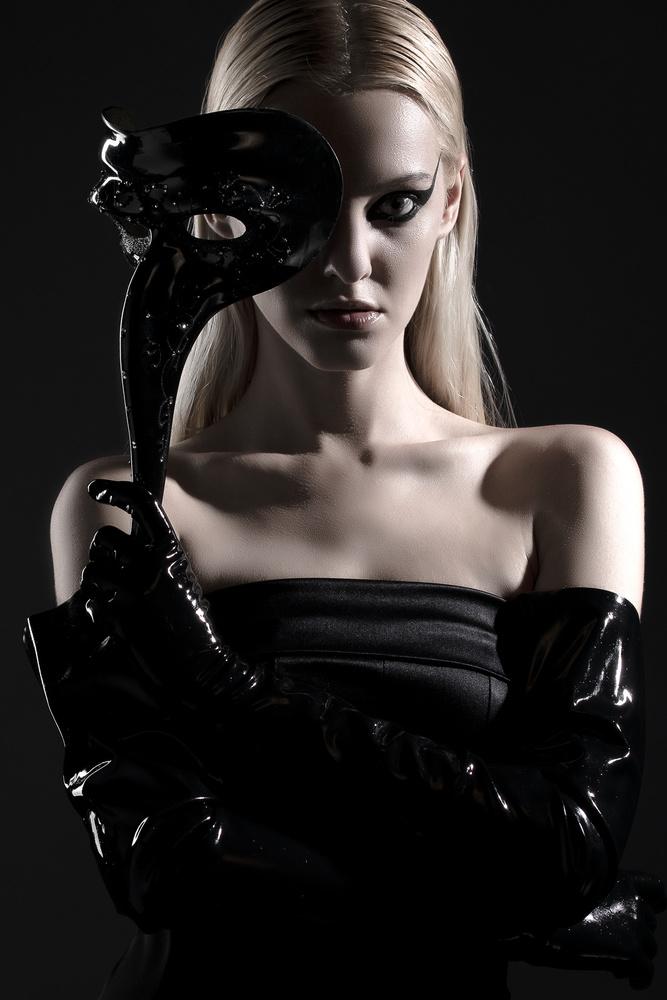 Mademoiselle Noir by Yury Romanov