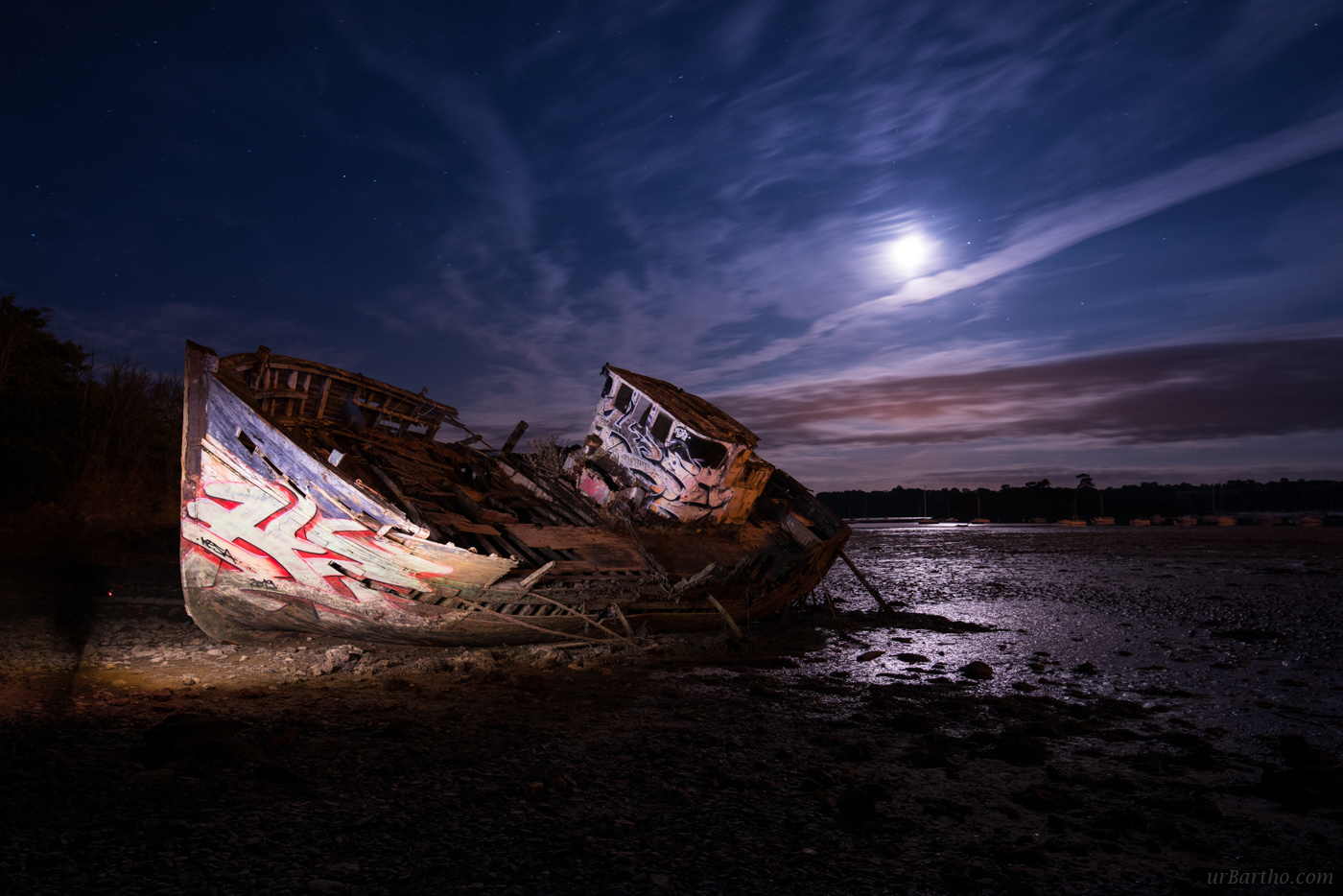 Moonlighters' Shipwreck by Guillaume Prugniel J