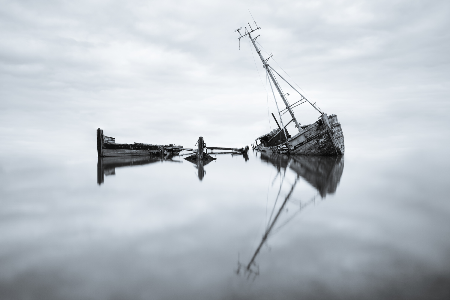 Pin Mill reflections by Michael Clarke