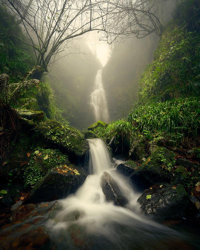Magic Waterfall by Jon Zumalabe