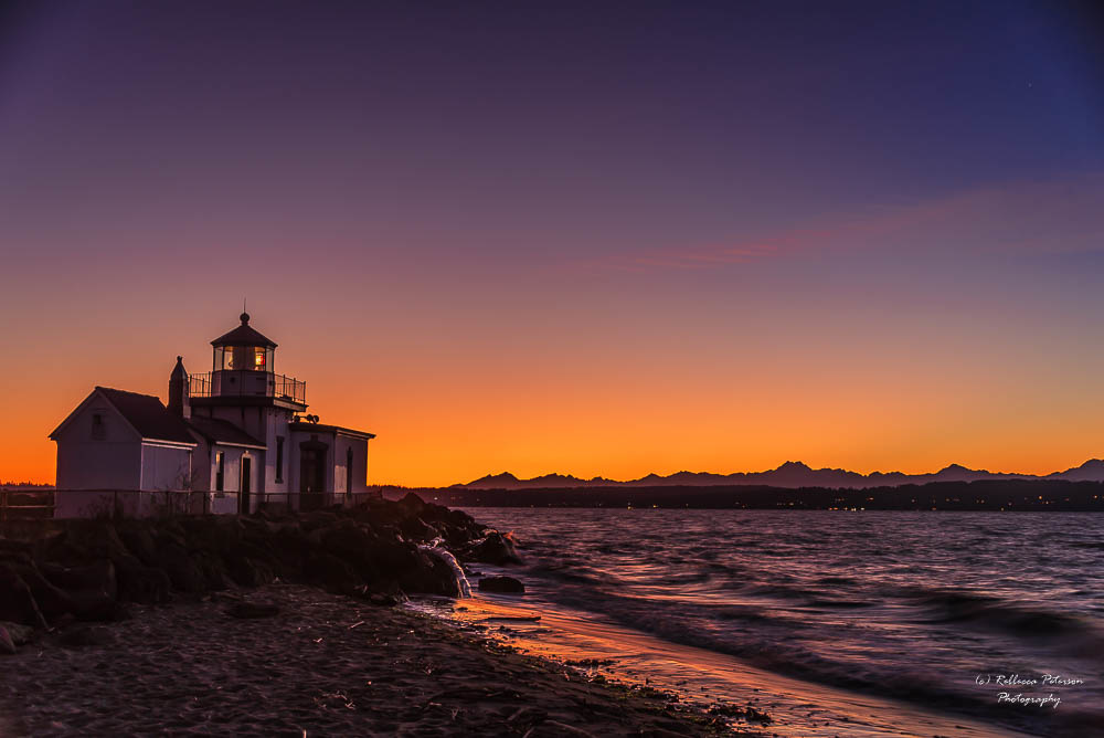 Discovery Point Lighthouse by Rebbecca Peterson