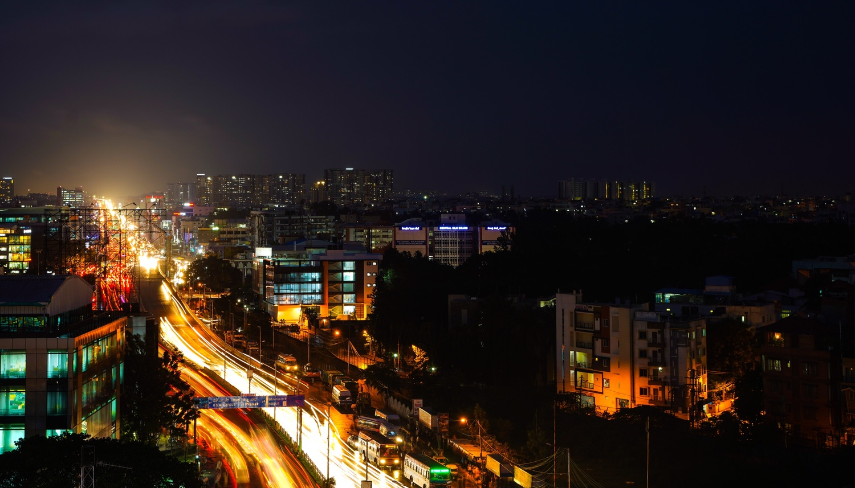 The city by Jayesh Marangad