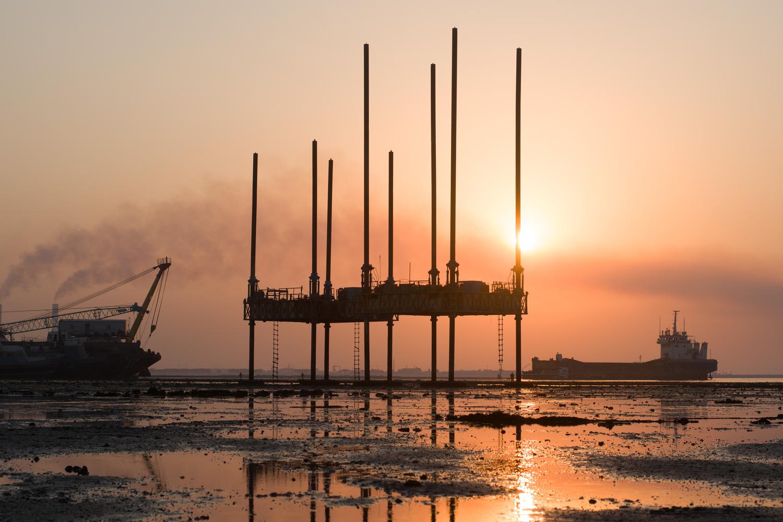 Doha dock by mohammad alotaibi