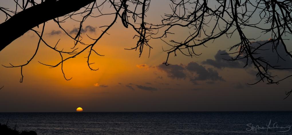 Silhouette Sunset by Stephen Yen Chong