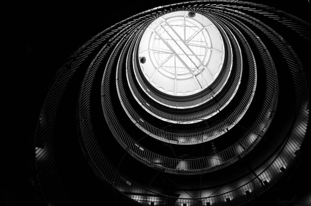Library Skylight by Stephen Yen Chong