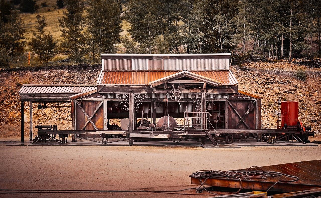 Mountain Mining Architecture by Mark Mathews