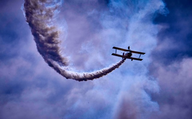 Air Acrobatics by Mark Mathews