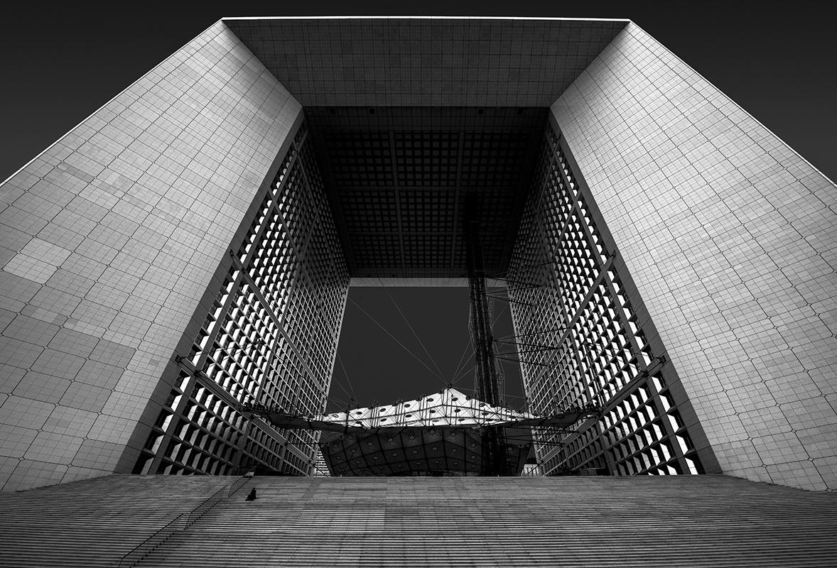 Grand Arch La Defense by Hanaa Turkistani