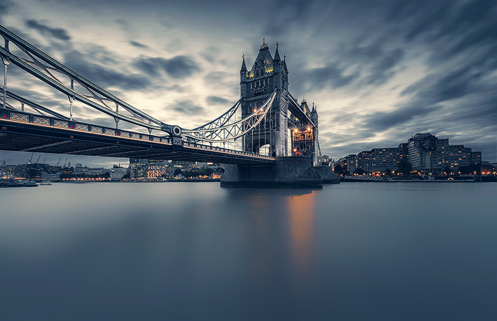TOWER BRIDGE by Hanaa Turkistani