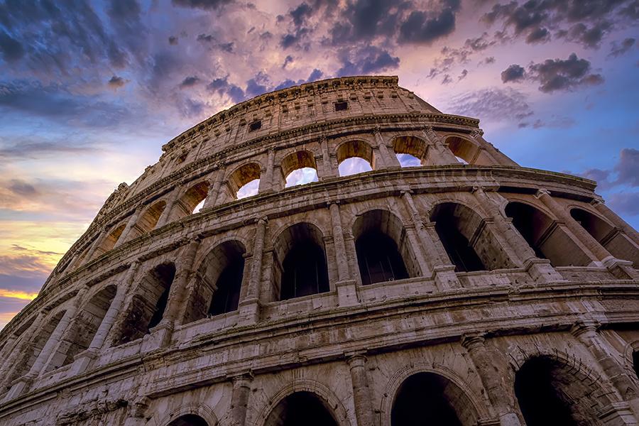 Colosseum Rome by Hanaa Turkistani