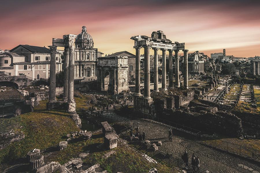 ROMAN FORUM by Hanaa Turkistani
