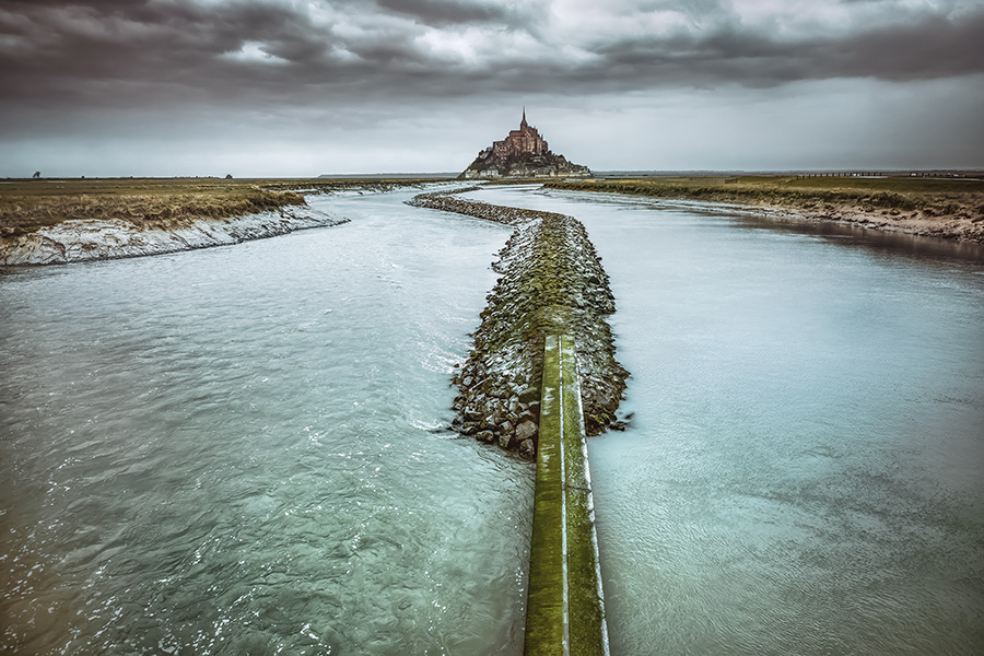 Mont Saint Michel by Hanaa Turkistani