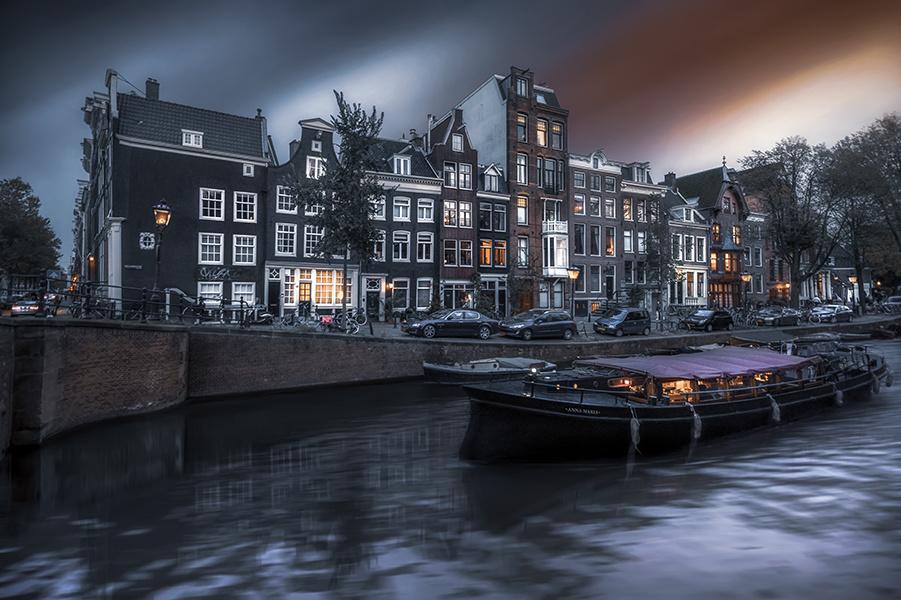 Day in Amsterdam by Hanaa Turkistani