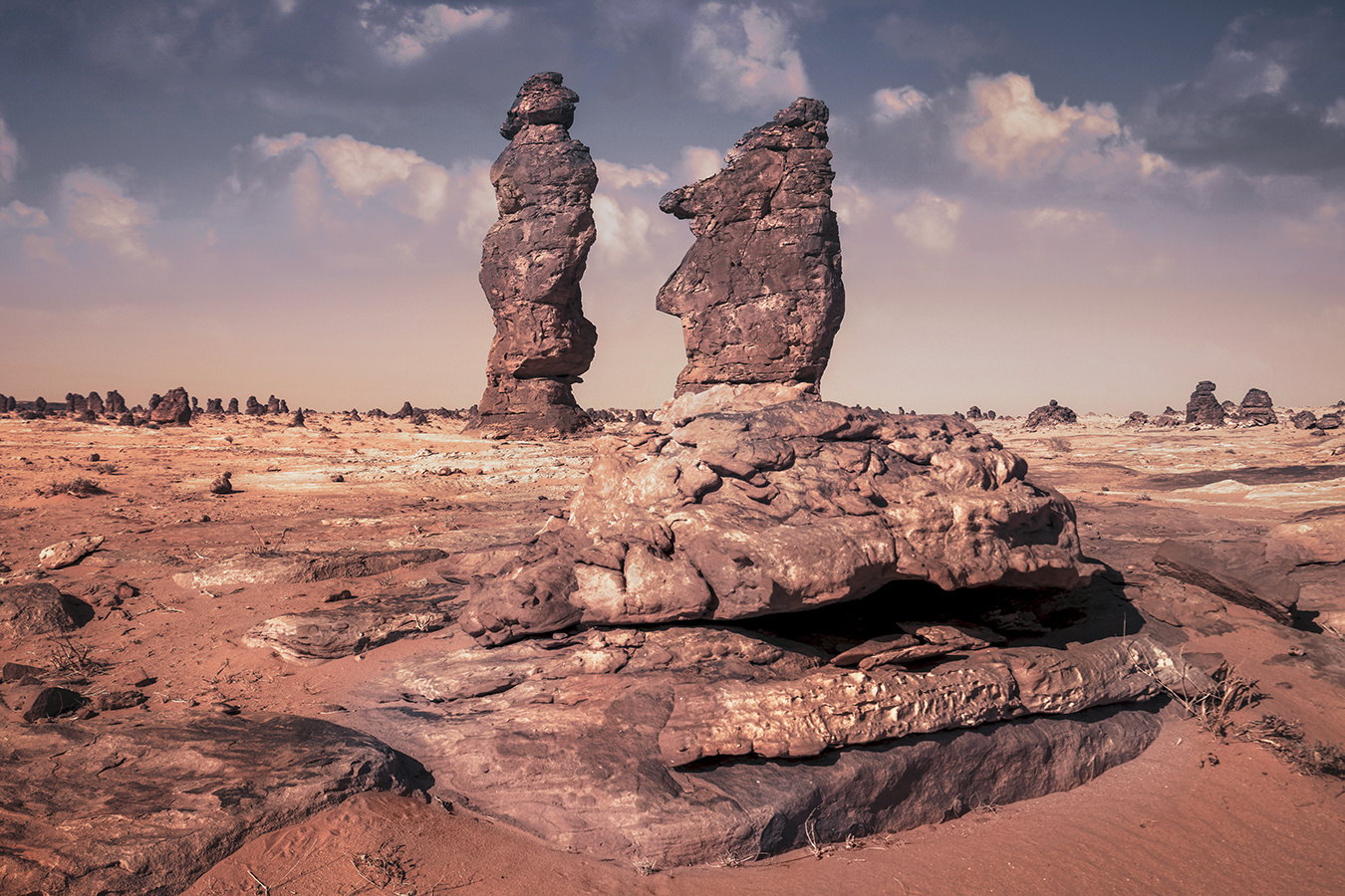 STANDING ROCKS ! by Hanaa Turkistani