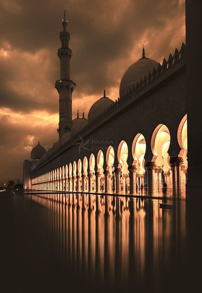 Grand Mosque by Hanaa Turkistani