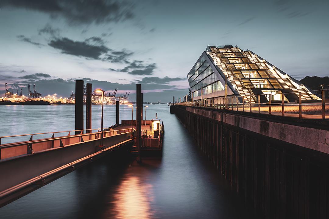 Dockland Hamburg by Hanaa Turkistani